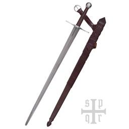 Middeleeuwse anderhalfhander 115 cm, battle-ready (bot 3 mm)
