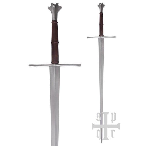SPQR Tohånds sværd 1450-1460 Zürich, kampklar