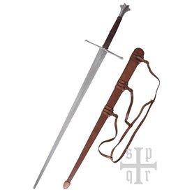 SPQR Miecz dwuręczny 1450-1460 Zurych, gotowy do walki