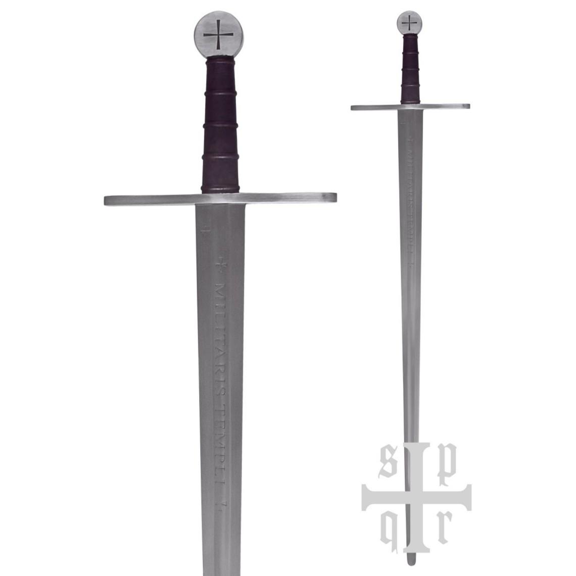 SPQR Spada Templare Milites Templi, pronto per la battaglia