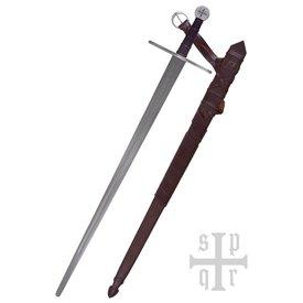 SPQR Miecz templariuszy Milites Templi, gotowy do walki