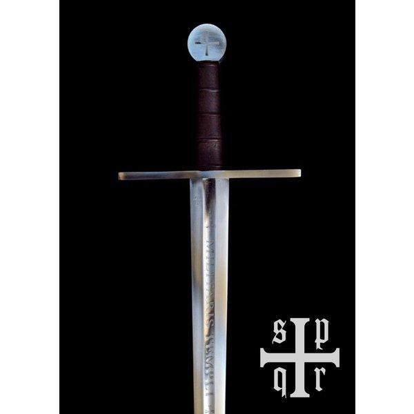 SPQR Templar-sværd Milites Templi, kampklar