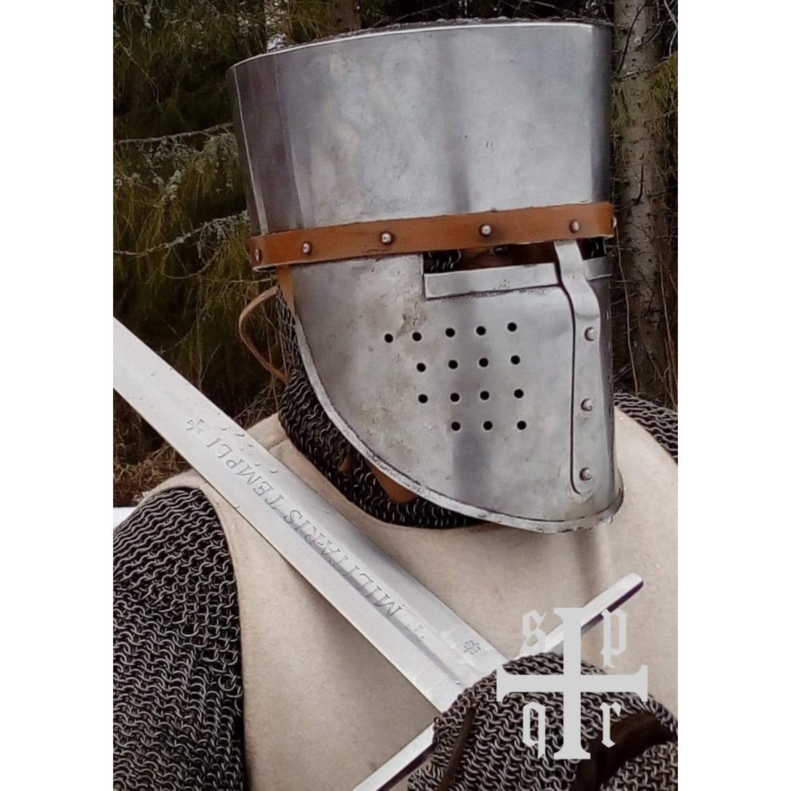 SPQR Épée des Templiers Milites Templi, prête au combat