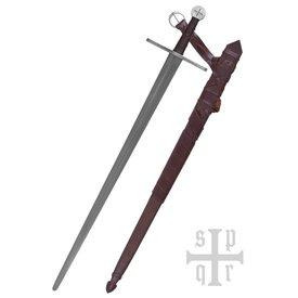 SPQR Miecz rycerza templariuszy, gotowy do walki