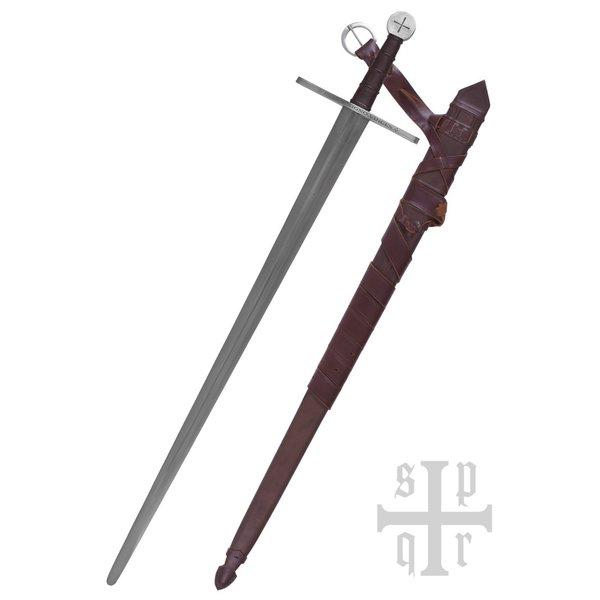 SPQR Épée de chevalier templier, prête au combat