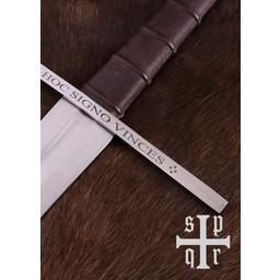 Épée de chevalier templier, battle-ready (émoussé 3 mm)