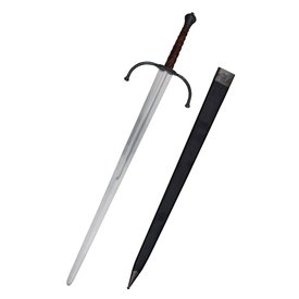 Deepeeka 14. Jahrhundert Bastardschwert, kampfbereit