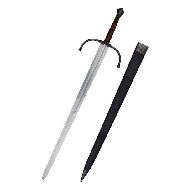 Deepeeka Bastardschwert aus dem 14. Jahrhundert, kampfbereit