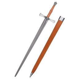 15. århundrede hånd-og-et-halvt sværd Shrewsbury, kampklar