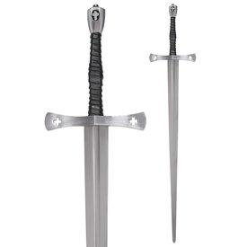 Deepeeka 15. Jahrhundert Tewkesbury Hand-und-ein-halb Schwert, halb-scharf