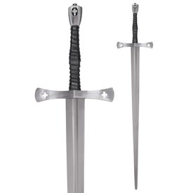 Deepeeka espada de mano y media Tewkesbury, siglo 15, semi-afilado