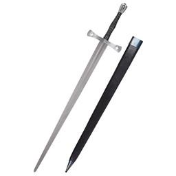 Półtoraroczny miecz Tewkesbury z XV wieku, gotowy do walki