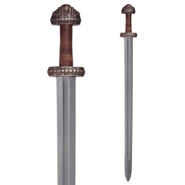 Deepeeka Viking sværd ø Eigg, læder greb