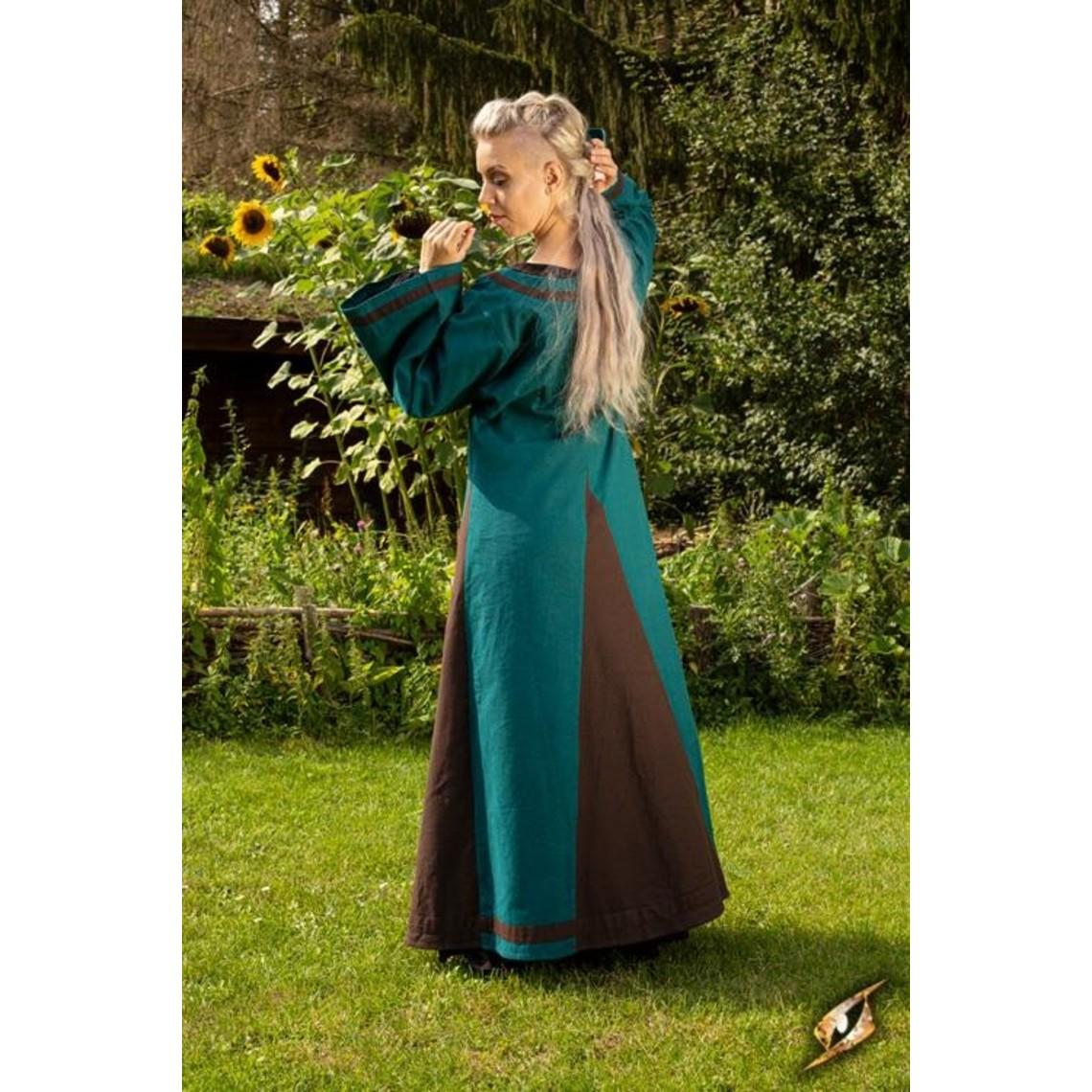 Epic Armoury Robe Viking Astrid, marron azur