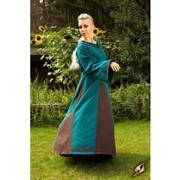 Wikinger Kleid Astrid, azurblau