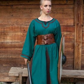 Epic Armoury Viking klänning Astrid, Azure-brun