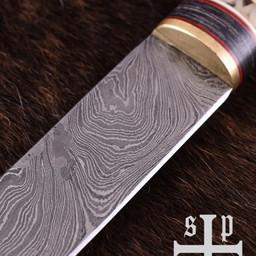 Vikingsax Thingvellir, damascusstaal