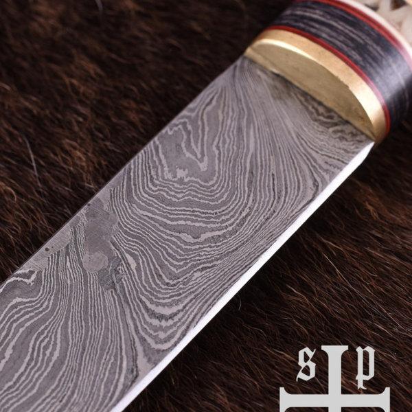 SPQR Vichingo SeaX Thingvellir, acciaio di Damasco