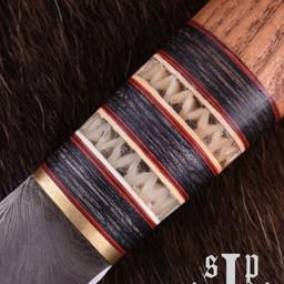 Viking seax Thingvellir, damascus steel