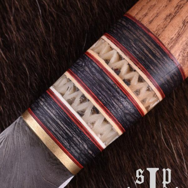 SPQR Viking seax Thingvellir, Damaskus stål
