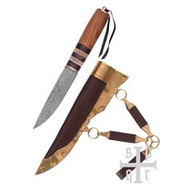 SPQR Vikingsax Thingvellir, damascusstaal