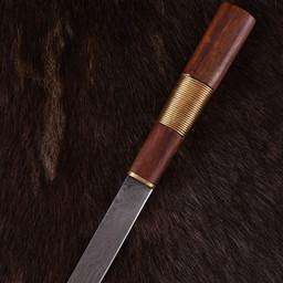 Viking kniv Kattegatt, Damaskus stål