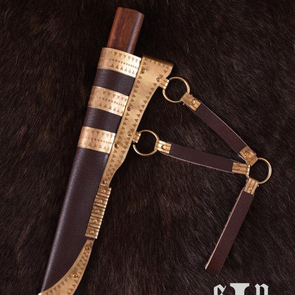 SPQR Viking kniv Kattegat, Damaskus stål