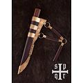 SPQR Vikingmes Kattegat, damascusstaal