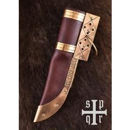 couteau Viking Visby, damas acier