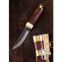 cuchillo de Viking 9 y 10 de siglo, el tipo de Gotland