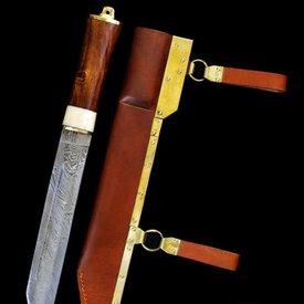 SPQR Viking Seax Wexford, stali damasceńskiej