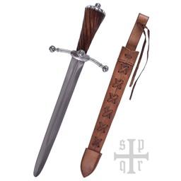 Laatmedieval dagger Landsknecht, battle-ready (blunt 3 mm)