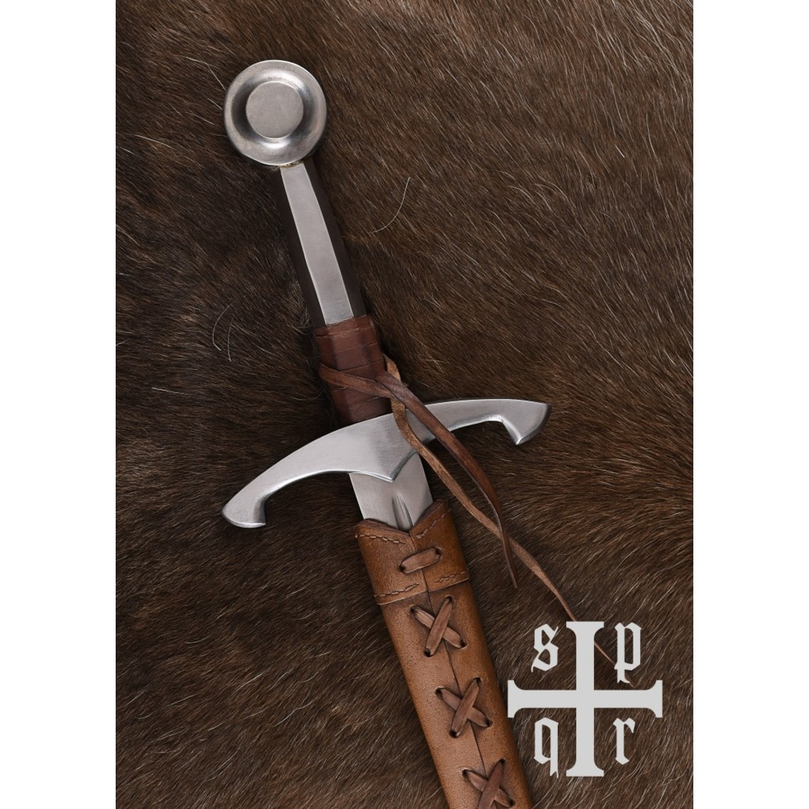 SPQR Tardo medievale pugnale Bamberg, battaglia-ready
