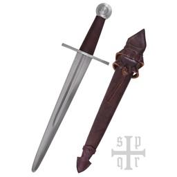 dague médiévale de Carcassonne, battle-ready (émoussé 3 mm)