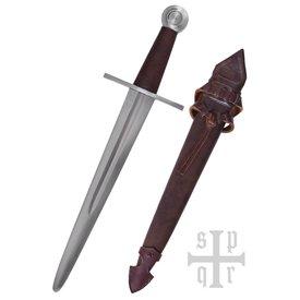 SPQR Średniowieczny sztylet Carcassonne, bitwa-ready