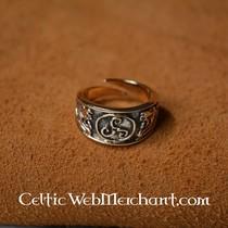 Keltische ring triskelion, klein