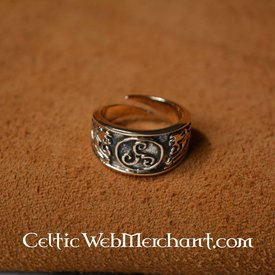 Celtic Ring triskelion, groß