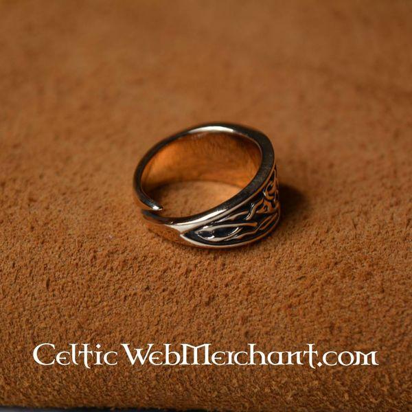 Bague celtique Triskèle, taille L