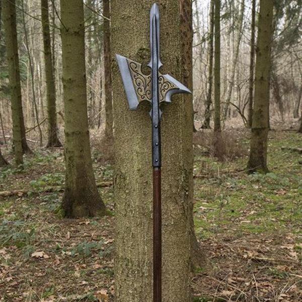 Epic Armoury LARP Kingsguard Halberd, qualità B.