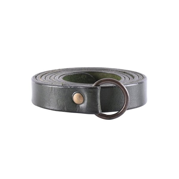 Deepeeka Ring bælte 190 cm, sort