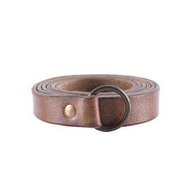 Deepeeka Ring bælte 190 cm, brun