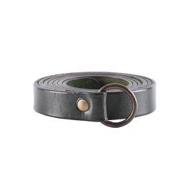 Deepeeka Ring belt 190 cm, green