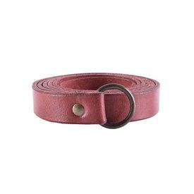 Deepeeka Ring belt 190 cm, red