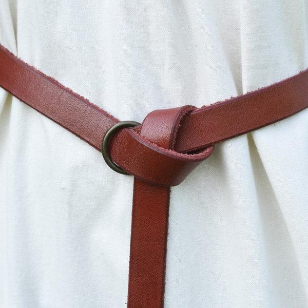 Deepeeka Cintura Anello 190 cm, rosso