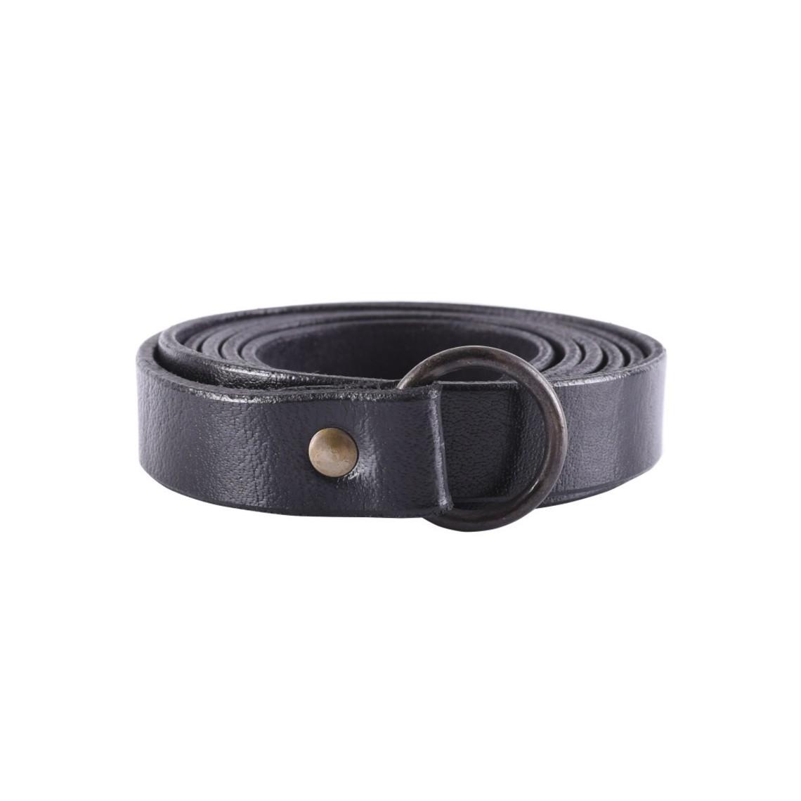 Deepeeka correa del anillo 160 cm, negro