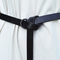 Ringgürtel 160 cm, schwarz