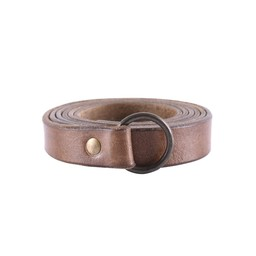 pas pierścieniowy 160 cm brązowy