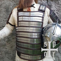 SPQR Early medieval lamellar armour Birka