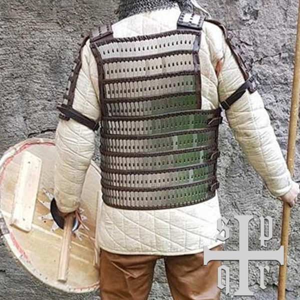 SPQR Early medieval lamellar armour Birka