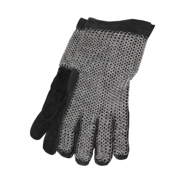 Deepeeka Galvaniseret Chainmail handsker, 6 mm
